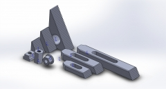 LMS Clamping Kit CAD for CNC